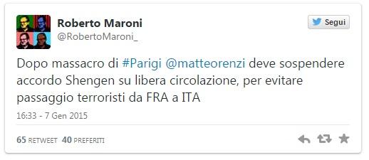 Twitt-Maroni-Parigi