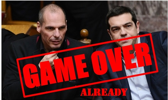 Tsipras Varoufakis Game Over