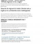 Immigrazione Giornali
